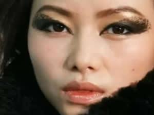 豹纹眼妆 时尚冬日野性风情