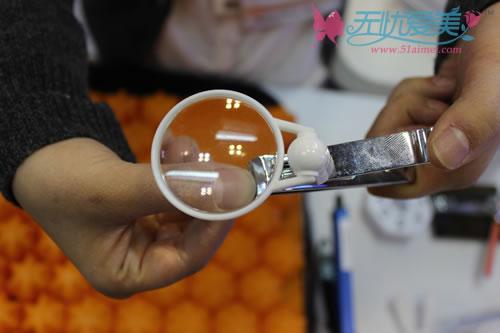 2012国际美容医疗观光博览会_放大镜指甲剪