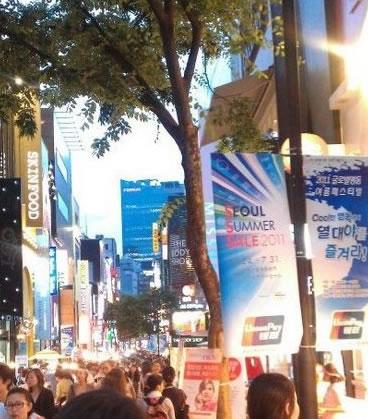 韩国商户也受理银联业务