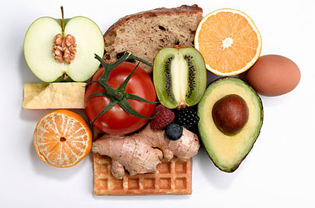 平衡膳食养发