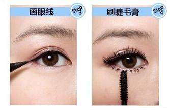 画眼线正确手法
