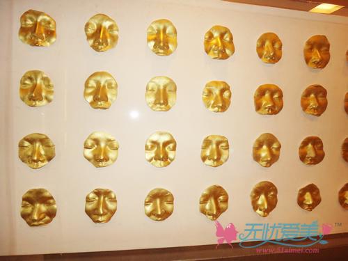 韩国4月31日整形医院鼻部整形模版墙