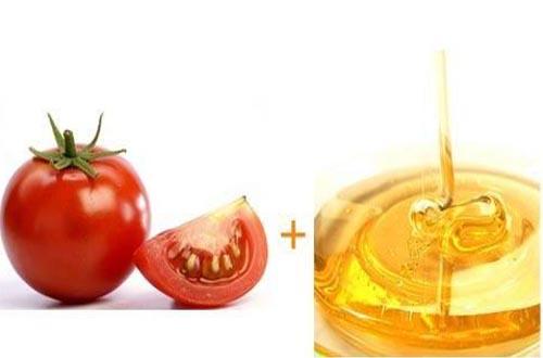 蕃茄蜂蜜面膜