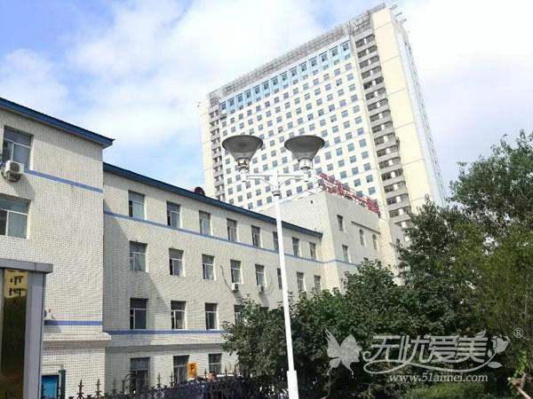 解放军211医院外景