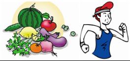 健康饮食合理运动