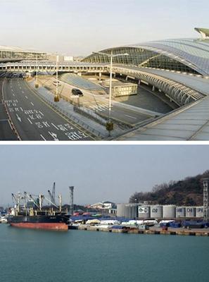韩国机场 港口