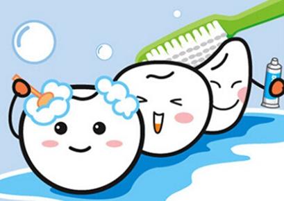 冷光美白牙齿护理