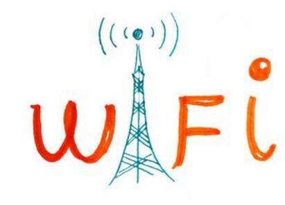 wifi标志手绘图片