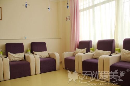 广州艺美整形医院输液区