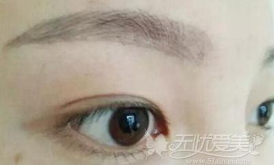 纹眉0基础线条画法步骤