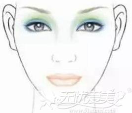 菱形脸适合的眉形