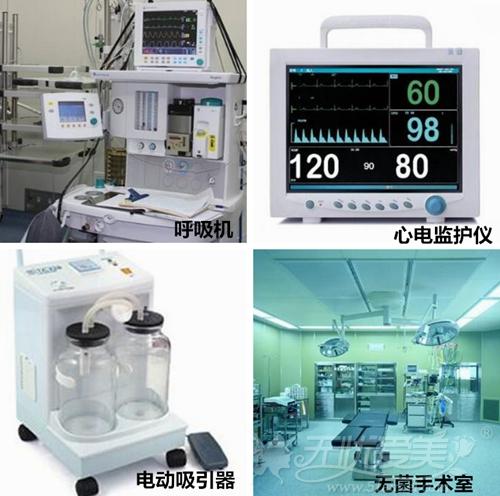 正规整形医院的设备仪器
