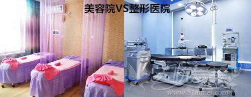 美容院和整形医院使用的设备不同