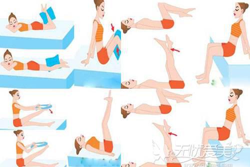 瘦腿运动图解