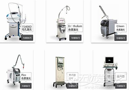 韩国童颜中心激光治疗仪器