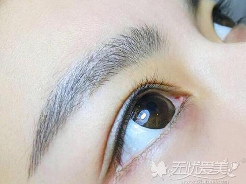 半永久纹眉、纹眼线案例