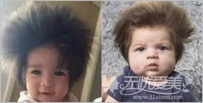 头发浓密的宝宝