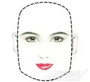 方形脸的改脸型方案