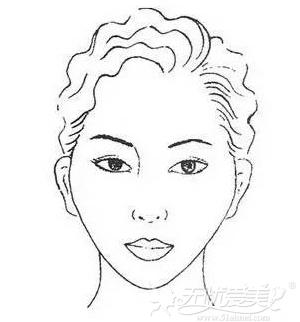 菱形脸的改脸型方案