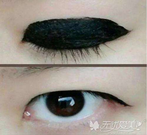 眼线基本无用