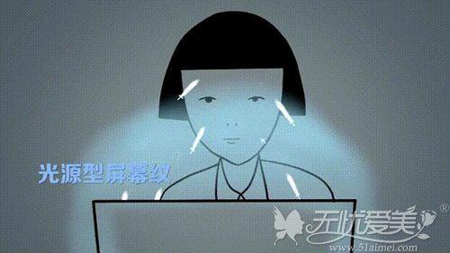 光源型屏幕纹特点