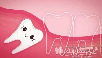 智齿导致牙缝大