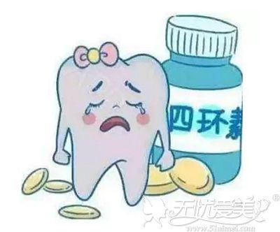 四环素对牙齿的影响