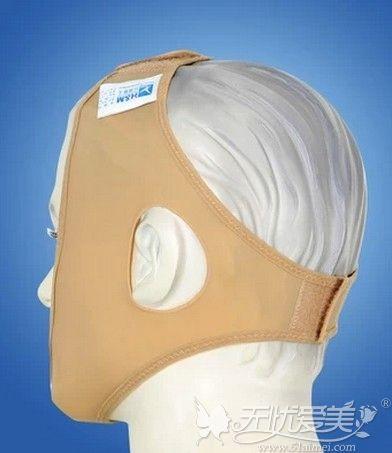 面部吸脂术后必须戴头套