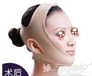 面部线雕提升术后要戴头套