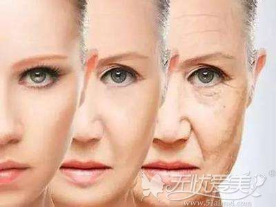 随着年龄增长面部出现下垂
