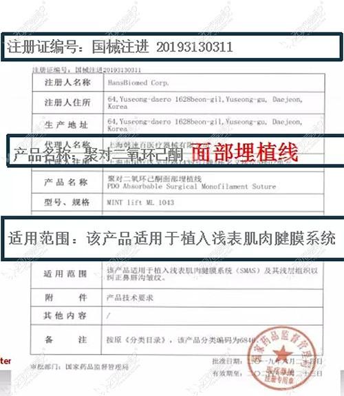 韩士生科MINT秘特线在国内得到了认证