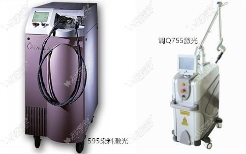 治疗胎记的常用设备